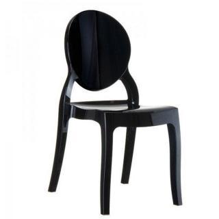 Chaise médaillon IMPÉRATRICE noir opaque 2ème choix