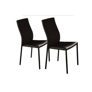 Lot de 2 chaises design HELLEN