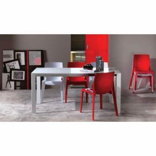chaises meubles et rangements lot de 2 chaises haut de gamme falena empilables inside75. Black Bedroom Furniture Sets. Home Design Ideas