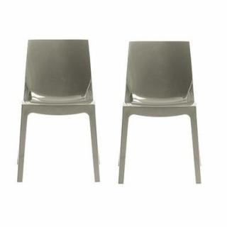 Lot de 2 chaises ICE empilables