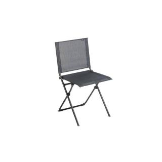 Chaise pliante ANYTIME couleur obsidian