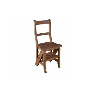 Chaise de libraire LAURA en mindi style colonial