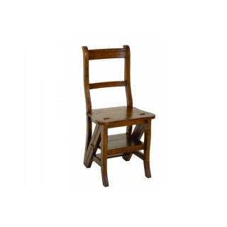 Chaise de libraire LAUREN en mindi