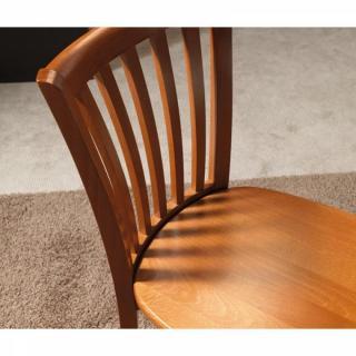 chaise design ergonomique et stylis e au meilleur prix chaise nataly merisier inside75. Black Bedroom Furniture Sets. Home Design Ideas