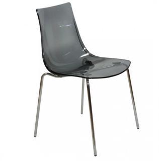Chaise ORBITAL empilables design fumé