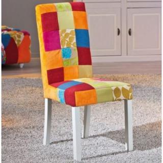 Lot de 2 chaises SAO BENTO patchwork