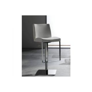 Chaise de bar MAXIM design blanche