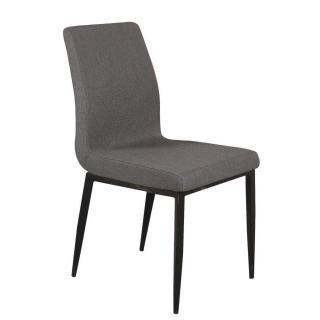 Chaise VIP design tissu graphite
