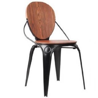 Lot de 2 chaises ZUIVER LOUIX noire