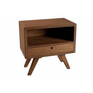 Chevet design FANCY 1 tiroir en mindi style scandinave