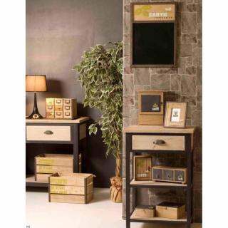 Chevets, meubles et rangements, Chevet 1 tiroir 2 étagères LEA en ...