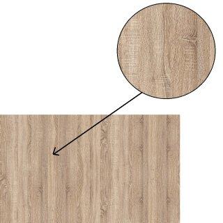 Chevet 2 tiroirs LOFT chêne naturel