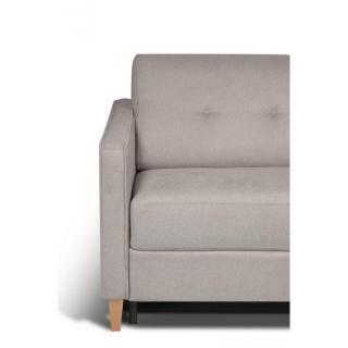 Canapé d'angle NORWAY matelas 14cm système rapido sommier lattes 120cm RENATONISI