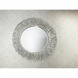 CIRCLES miroir mural design en verre - modèle argent