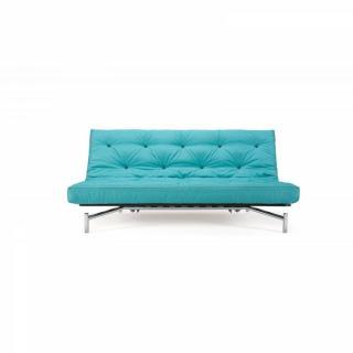 canap s rapido canap spider capitonn matelas haut de gamme ressorts bleu inside75. Black Bedroom Furniture Sets. Home Design Ideas