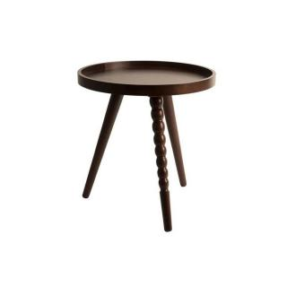 Table basse ARABICA de DutchBone 40 x 45 cm noyer