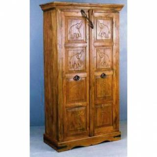 dressings et armoires armoire el phant inde palissandre inside75. Black Bedroom Furniture Sets. Home Design Ideas