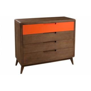 Commode 4 Tiroirs LUCAS Style Colonial En Mindi