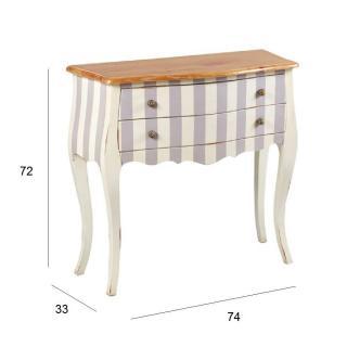 commodes meubles et rangements commode carloman grise et. Black Bedroom Furniture Sets. Home Design Ideas