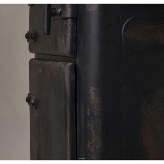 DUTCHBONE Commode BROOKE  en fer sur roulettes