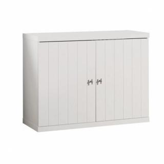 Commode HYDRUS design blanche 2 portes