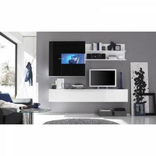 Ensemble mural TV, meubles et rangements, Composition murale TV ...