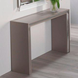 Console design ARCHIMEDE taupe