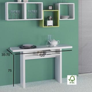 Console extensible FIONA blanche