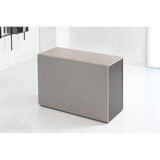 Console extensible PROTEO chocolat taupe