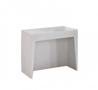 Console extensible COSMIC blanc mat