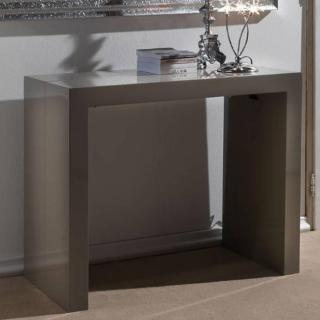 Console extensible MAGIKA taupe brillant