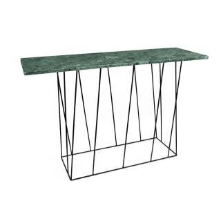 Console design HELIX en marbre vert