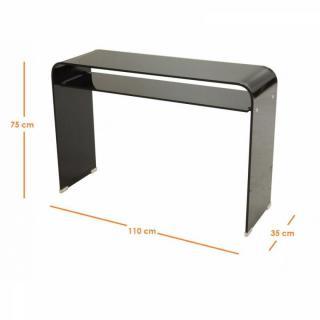 interesting miror console verre miroir design with console miroir design. Black Bedroom Furniture Sets. Home Design Ideas