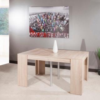 Console extensible le gain de place tendance au meilleur prix inside75 - Table chene extensible ...