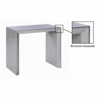 Console extensible le gain de place tendance au meilleur for Table extensible gris clair