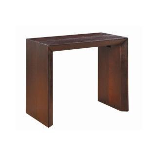 Console extensible en table repas EXTENSO DELUXE bois wengé, 12 couverts.