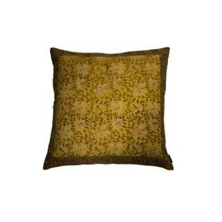 DUTCHBONE Coussin INDIAN BLOCK jaune
