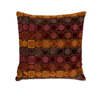 Coussin OTTAVA design rouge et orange