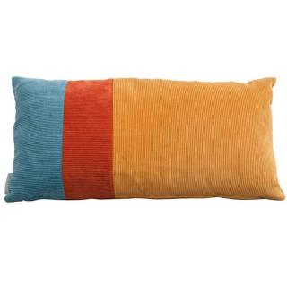 Coussin rectangle ZUIVER RIDGE COLOUR