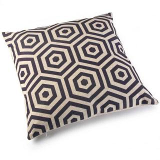 Coussin YIN  design gris