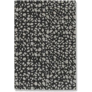 DAVINCI Tapis noir 160x230 cm