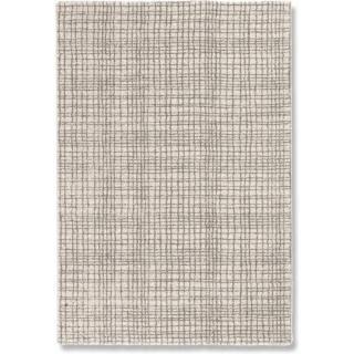 DAVINCI Tapis quadrillé beige 160x230 cm