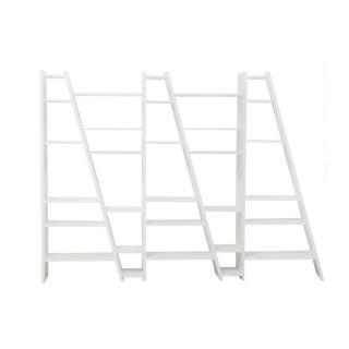TemaHome DELTA 5 bibliothèque étagère design blanc mat