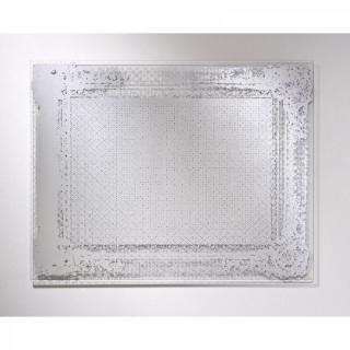 DENTELLE Miroir mural design en verre