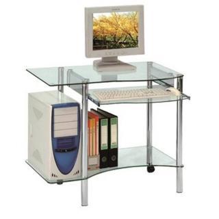 DESKTOP bureau pour ordinateur en verre