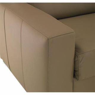 Canapé d'angle EXPRESS DREAMER sommier lattes 140cm matelas 16 cm