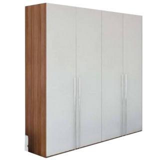 Dressing 4 portes laquées blanc