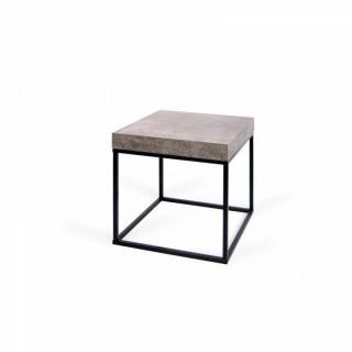 Chevets meubles et rangements temahome petra table basse - Table imitation beton ...