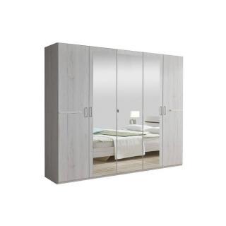 Chambre à coucher CARAMELLA chêne blanc 160*200cm