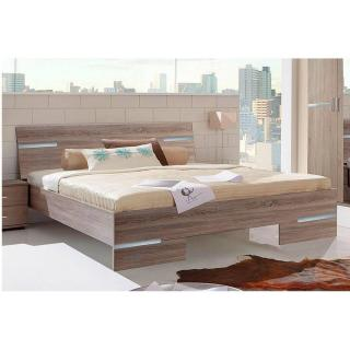 Chambre à coucher CARAMELLA chêne Montana 180*200cm